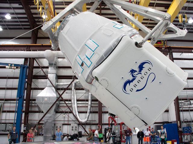 Im Jahr des Drachen zur ISS? Countdown für Falcon & Dragon