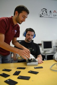 Test bench while testing (c) OEWF (Marc Rodriguez)