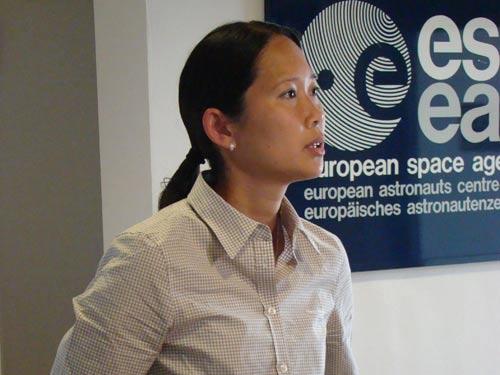 Jennifer Ngo-Anh, ESA Mars500 Programm Managerin