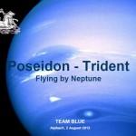 Visual Team Blue: Poseidon-Trident, Flying by Neptune