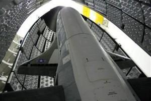 X-37B in Abschussrampe