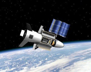 X-37B im Orbit visualisiert