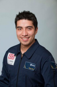 Diego Urbina, Mars500 crew (c) ESA / Anneke Le Floch