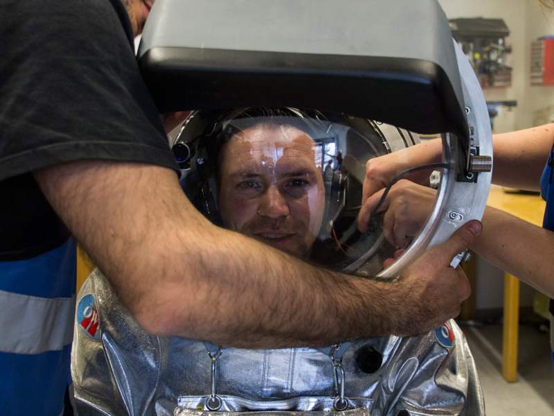 Analog Astronauten Training 2