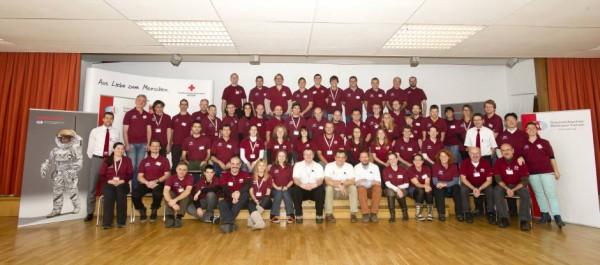 Gruppenfoto aller Teilnehmern (c) ÖWF (Katja Zanella-Kux)