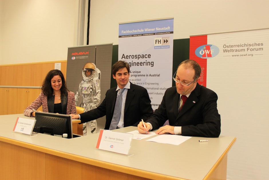 ÖWF und SGAC unterschreiben das Memorandum of Understanding