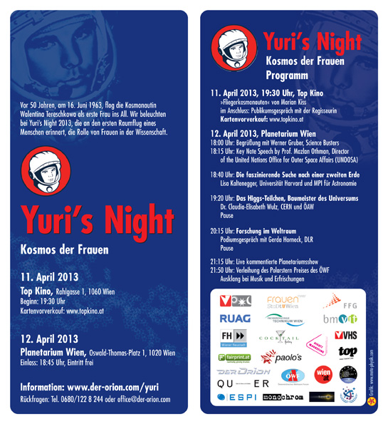 Flyer Yuris Night