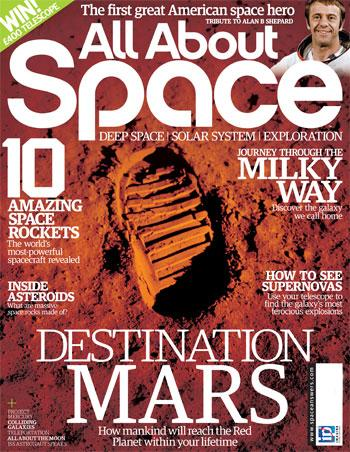 "Austrian Space Forum Mars projects feature in the british magazine ""All About Space"""