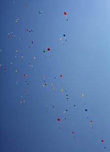 Flying balloons (c) OeWF (Agnieszka Sekula)