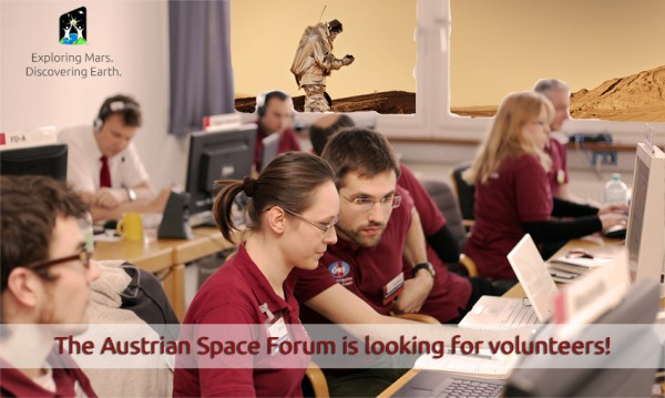 The Austrian Space Forum is looking for volunteers for World Space Week 2013