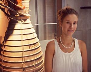 Nina Kunert, Masterstudentin an der Universität Stralsund