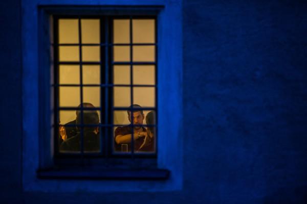 Abendliche Diskussionen (c) ÖWF (Stefan Hauth)