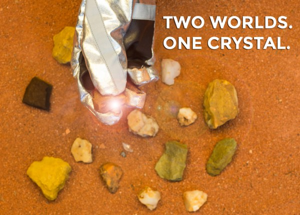 Two worlds. One crystal. (c) OeWF (Paul Santek)
