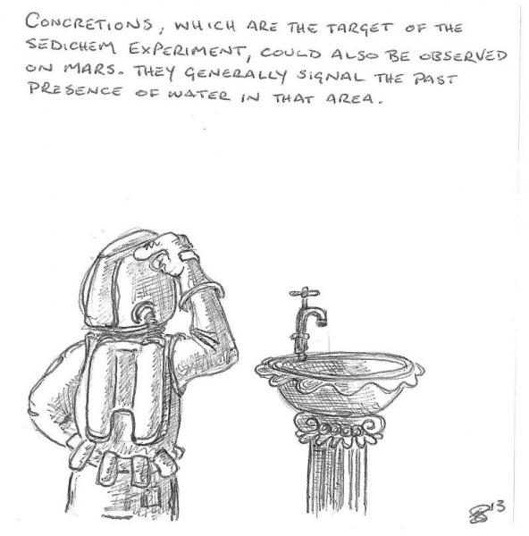 Day 4 MDRS cartoon by cartoonist Eugene Georgiades