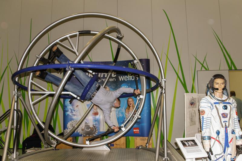 """World Space Week 2013 im Welser Science Center """"Welios"""""""