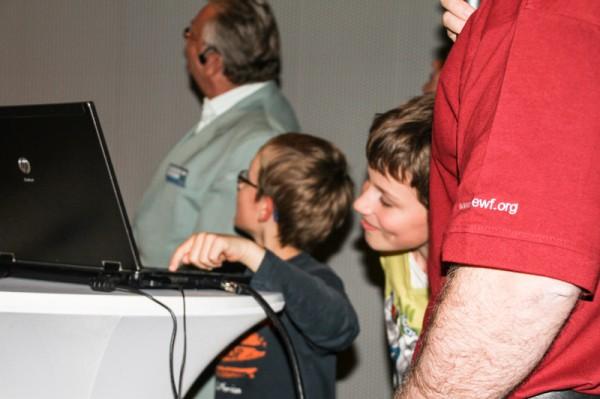 Kinder dürfen Rover MAVRIC in den USA steuern. (c) ÖWF (Hilde Hauth)