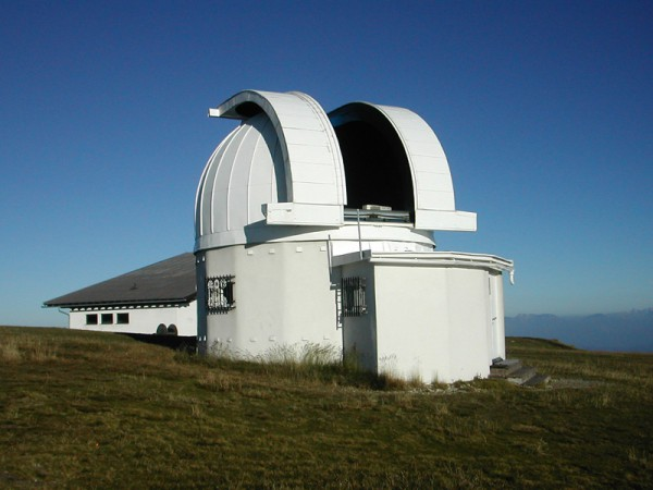 Die Sternwarte auf dem Gipfel der Gerlitze