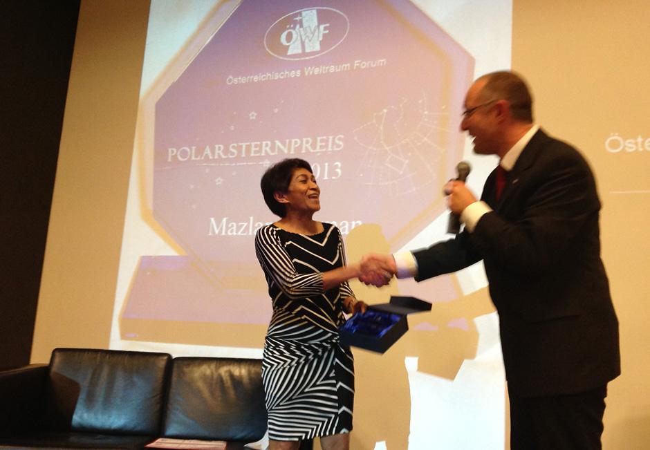 ÖWF Polarsternpreis 2014: Gesucht Menschen, die für Weltraum begeistern