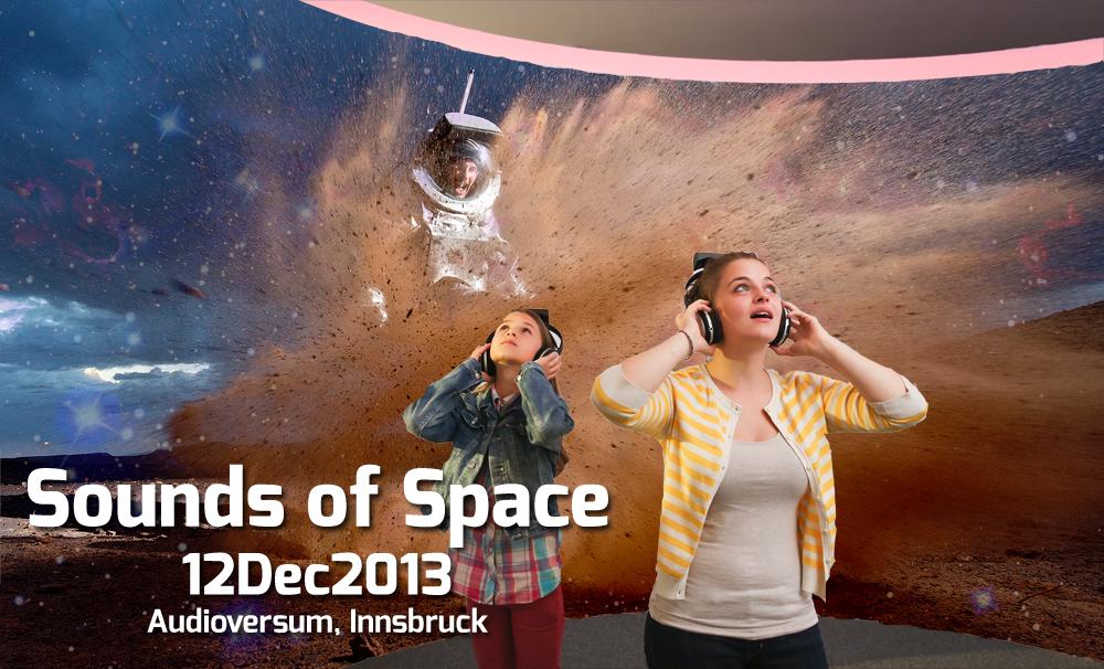 """Sonderausstellung """"Sounds of Space"""" mit ÖWF Beteiligung im Innsbrucker Audioversum Science Center eröffnet"""