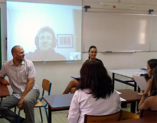 Weltraum-Physikunterricht unter Palmen,  das ÖWF in einer Liveschaltung nach La Réunion