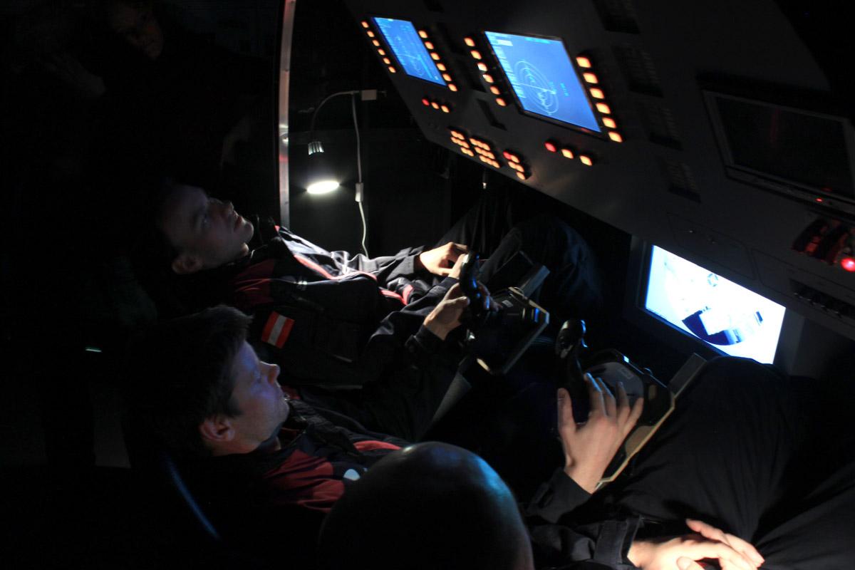 ÖWF fliegt Sojuz-ISS Dockingmanöver in Stuttgart !