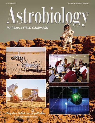 Frisch gedruckt! Die MARS2013 – Sonderausgabe von ASTROBIOLOGY