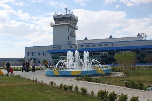 Baikonur Airport, +37°C
