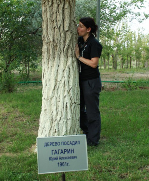 Kissing Yuri Gagarin tree