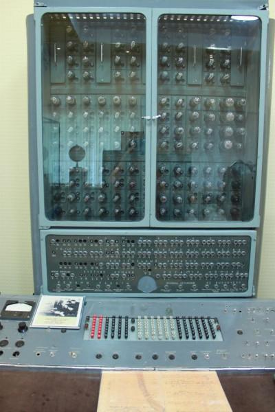 Sputnik launch control computer