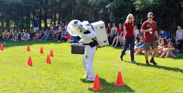 Astronauten-Parcour für ESA Spacecamp 2013