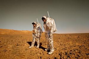 Aouda.X und Aouda.S beim MARS2013 Feldtest in der Nordsahara.