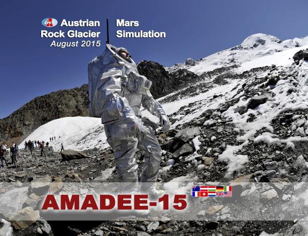 AMADEE-15 - Austrian Mars Rock Glacier Mars Simulation Photo: OeWF (Katja Zanella-Kux)