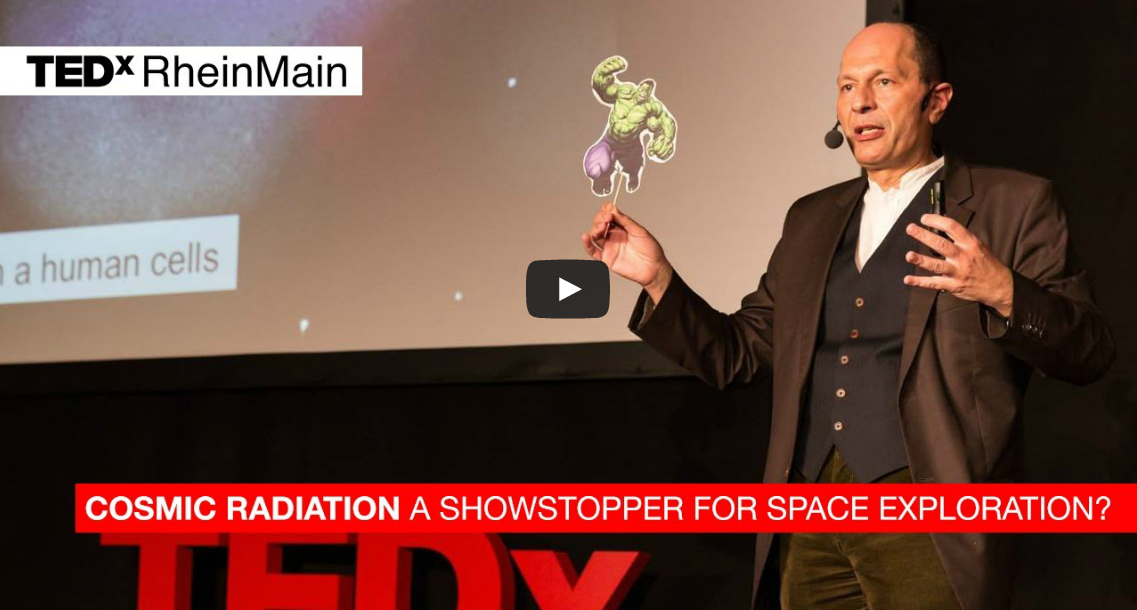 Interview with Prof. Marco Durante and his research on cosmic radiation during spaceflight