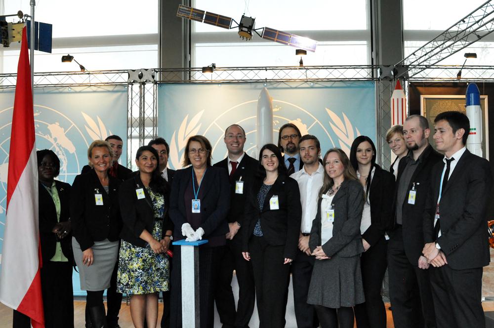 Tiuterra-Kristall für das Weltraumbüro der Vereinten Nationen