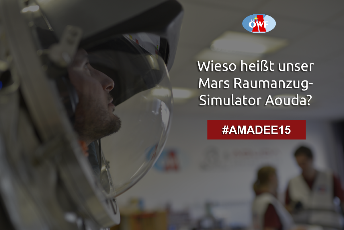 Update: Competition has concluded! || AMADEE-15 competition: Send us your question and win!