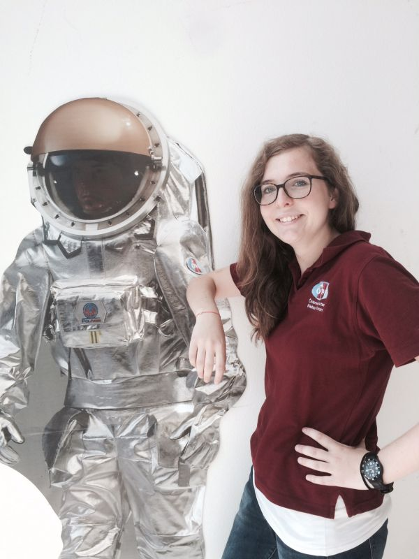 Praktikum 2015:  Fünf Nachwuchs Mars Pioniere!
