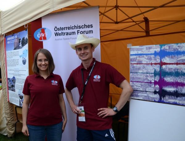 ERC2015 OeWF Team Ania Losiak & Michal Czapski