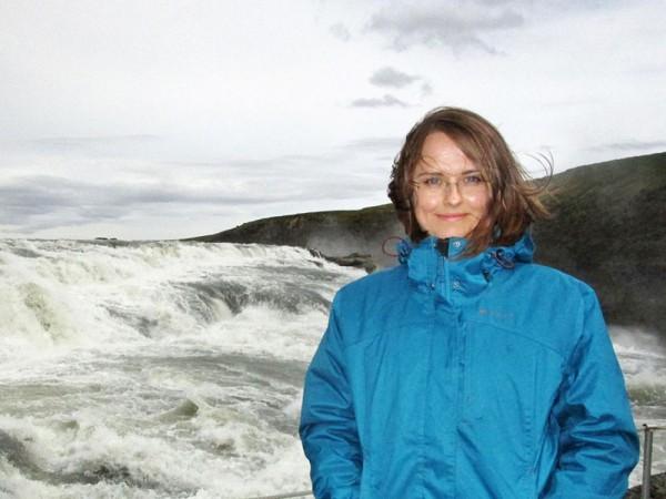 Dr. Anna Losiak in Iceland (c) Dr. Anna Losiak