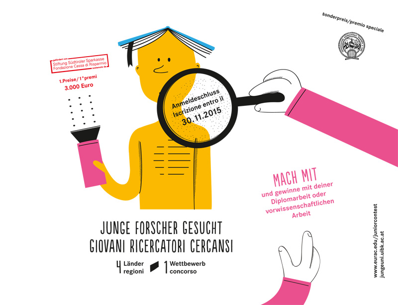 Junge Forscherinnen und Forscher gesucht!