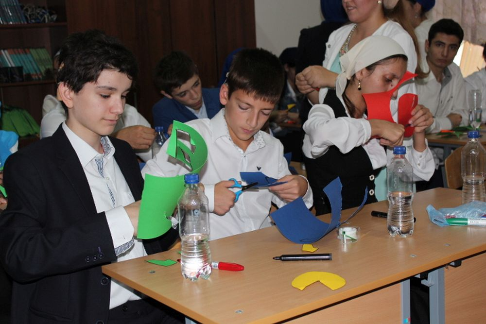 OeWF on tour: Water rocket workshop in Chechnya
