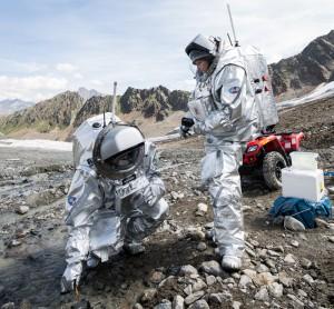 Folge 4: Leben im Weltraum / Foto: AMADEE15 MASE Experiment (c) ÖWF (Claudia Stix)