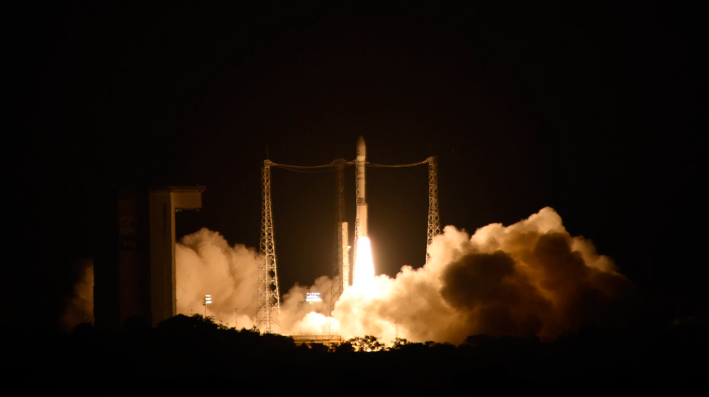 Live report from Kourou: Lisa Pathfinder launch