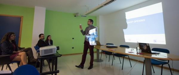 Alexander Soucek eröffnet den SGAC Workshop