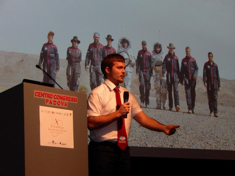 Mit dem ÖWF um die Welt – Symposium und Studenten-Workshop in Padua, Italien