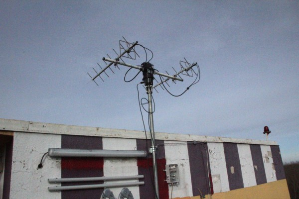Hard work pays off: The antenna is finally finished (c) OeWF (Michael Taraba)