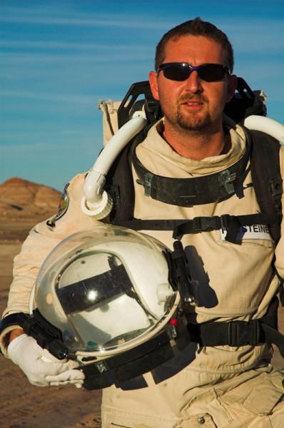 AustroMars Analog-Astronauten Christian Hutsteiner (c) ÖWF (A. Köhler)