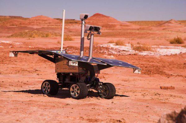 "AustroMars ""Sisi"" rover experiment (c) OeWF (Andreas Köhler)"