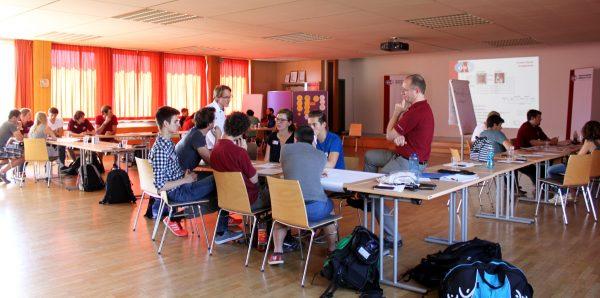 Spacesuit system course participants