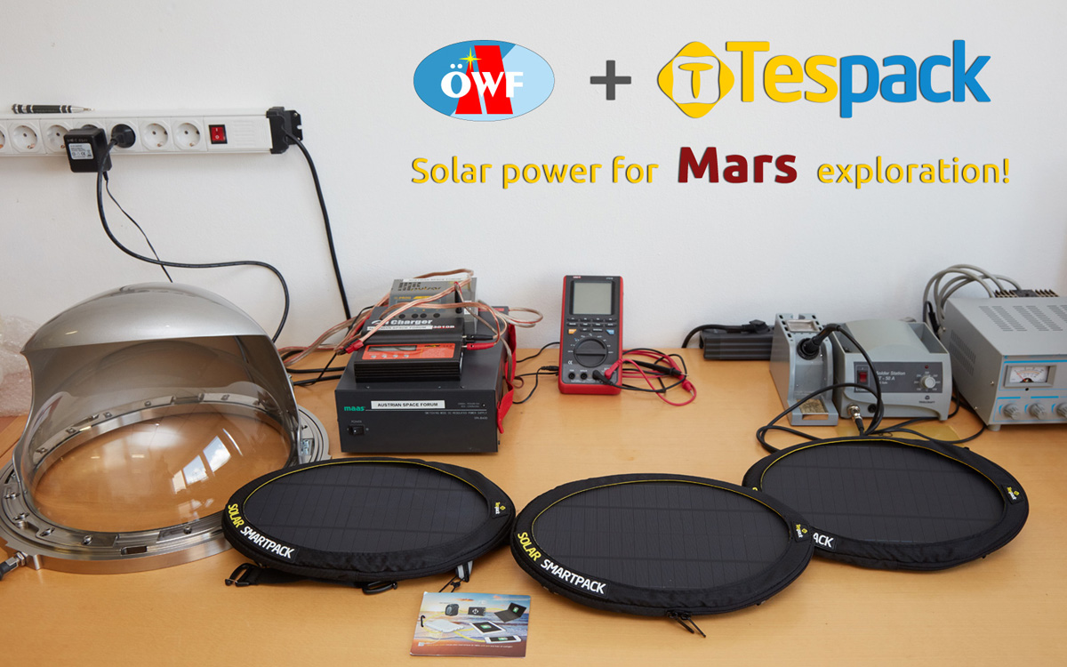 Solar power for Mars exploration – a first assessment