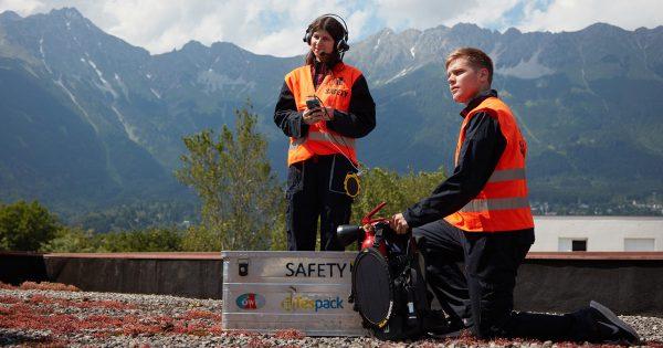 OeWF Safety equipped with Tespack solar power (c) OeWF (Paul Santek)